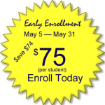 Early Enrollment Graphic