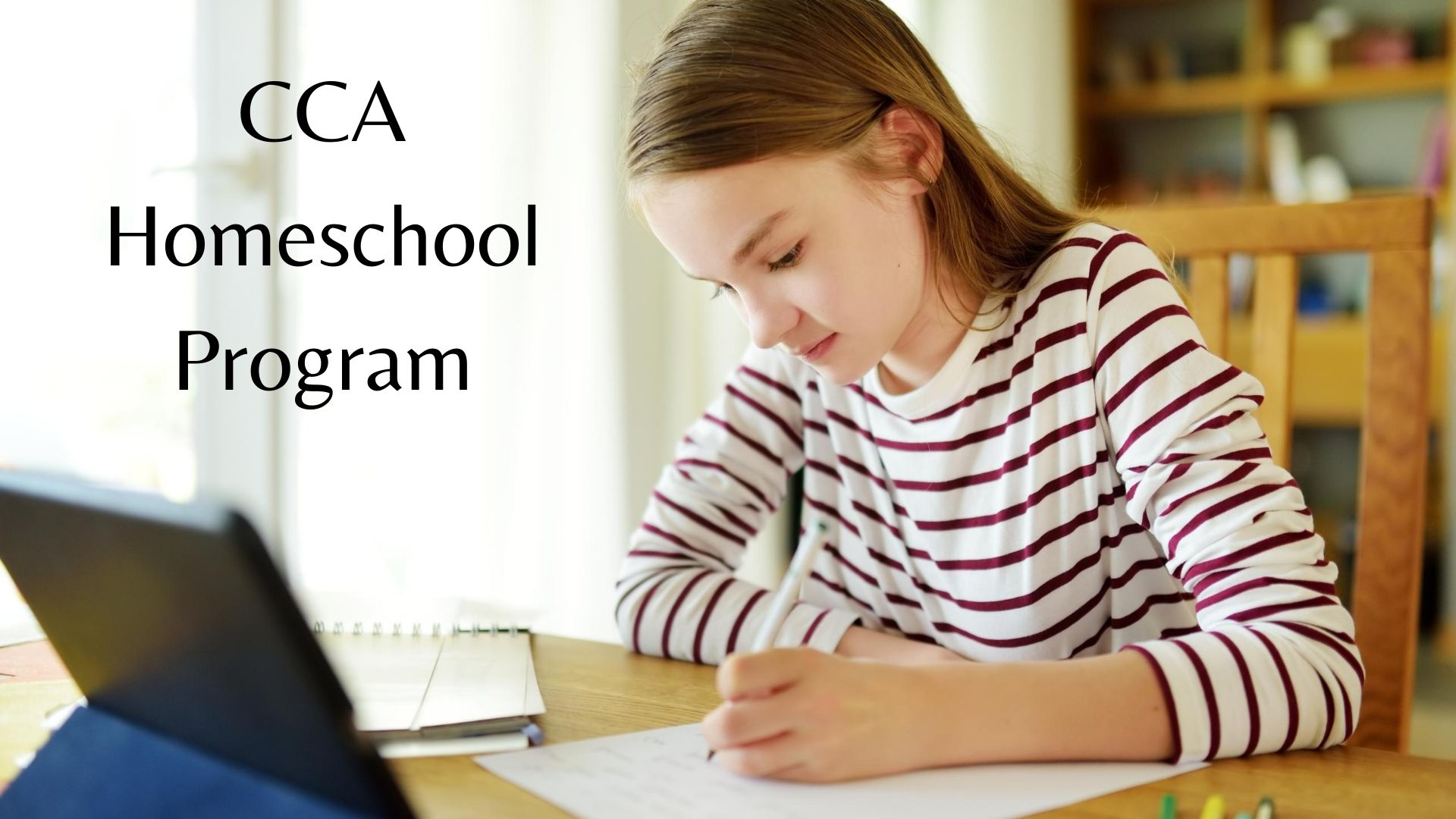 CCA Homeschool Program graphic