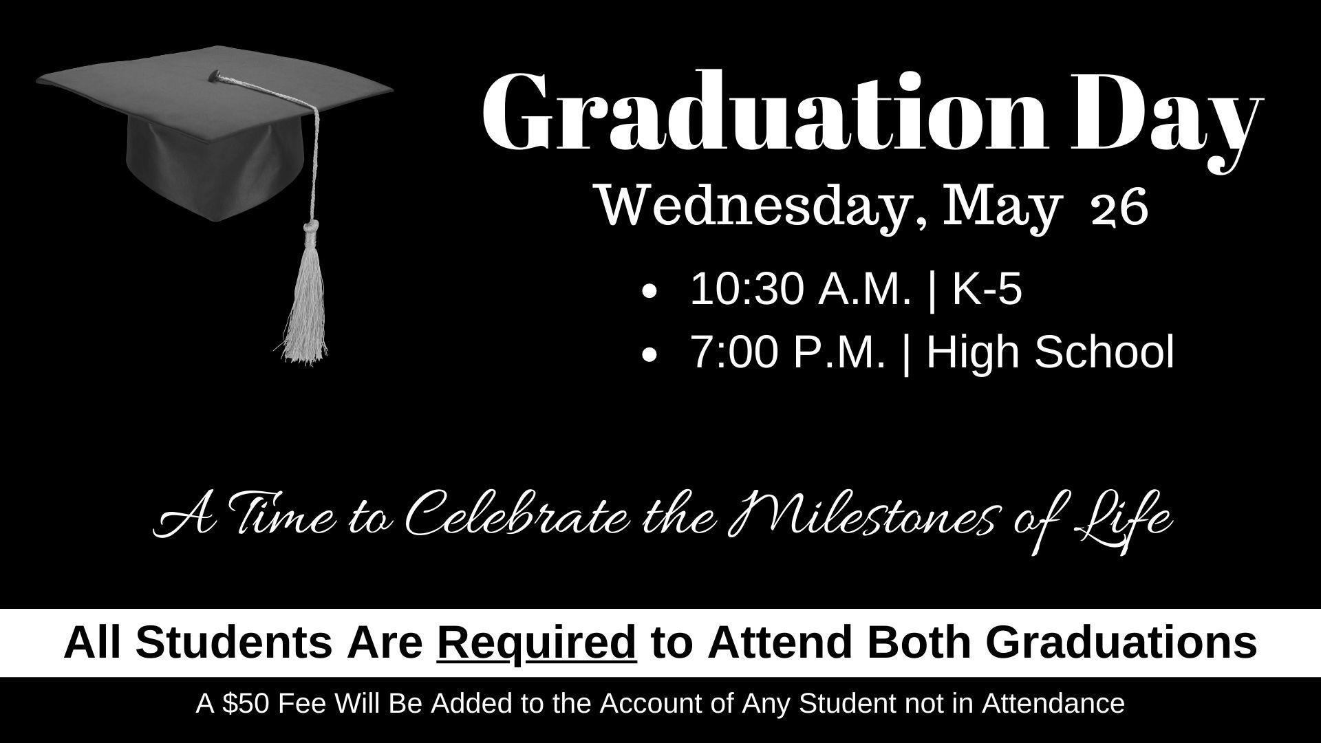 Graduation Day graphic