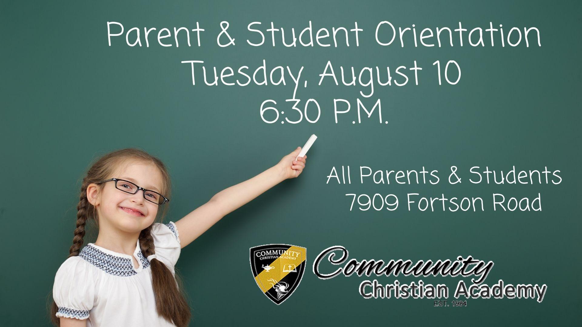 image for Parent & Student Orientation